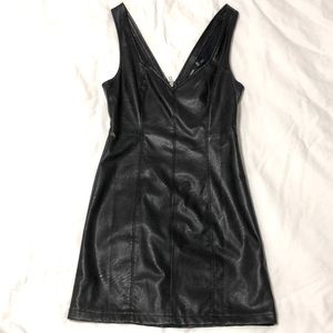 MINKPINK vegan leather dress